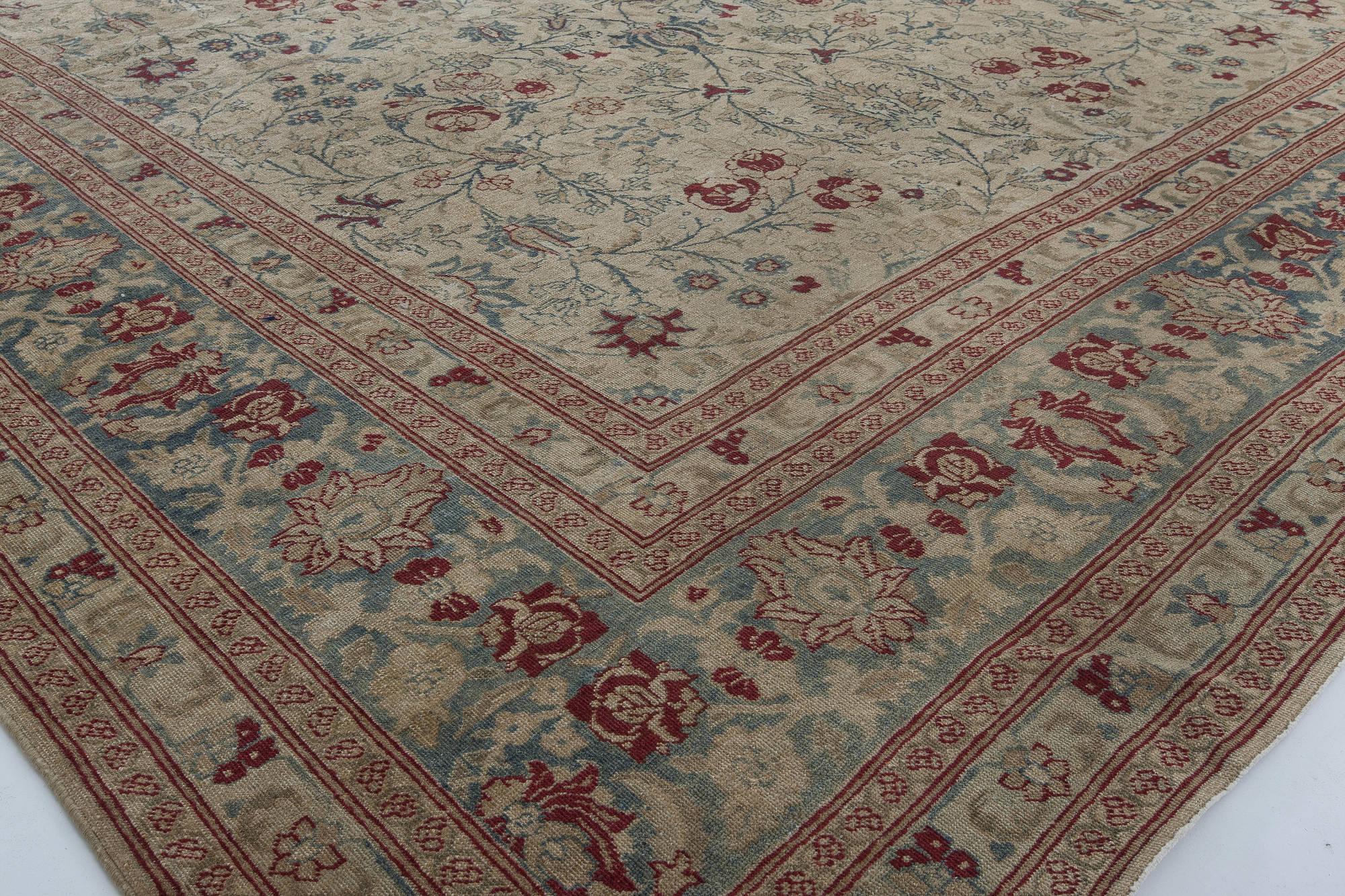 Antique Persian Tabriz Carpet Bb2849 By Doris Leslie Blau