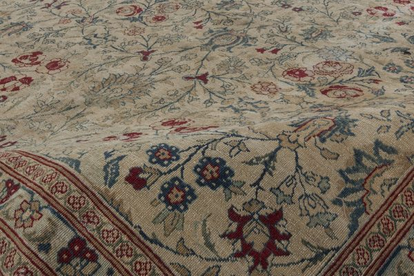 Antique Persian Tabriz Carpet BB2849