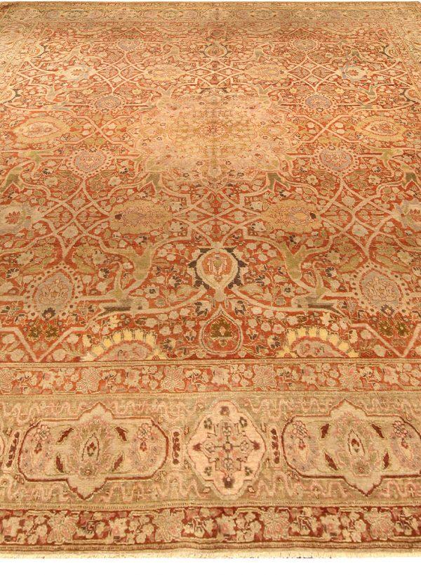 Vintage Persian Tabriz Rug BB3043