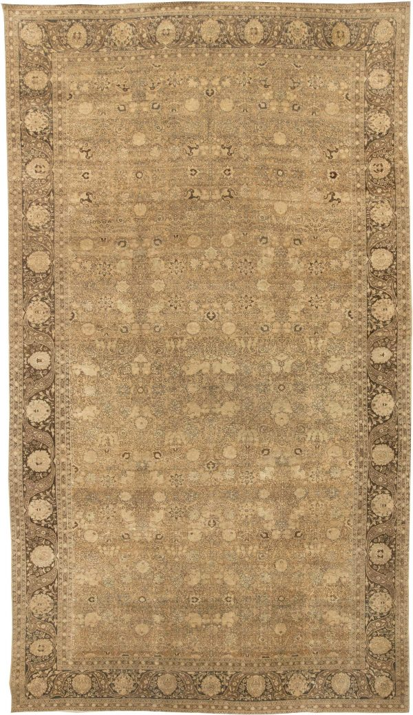 Antique Persian Tabriz Rug BB3618