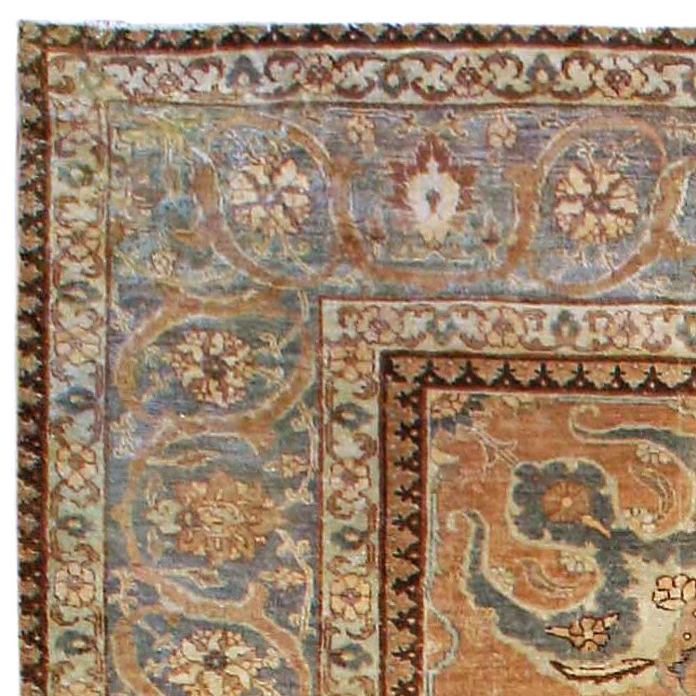 Vintage Persian Rugs: Antique Persian Tabriz Rug BB4081 By Doris Leslie Blau