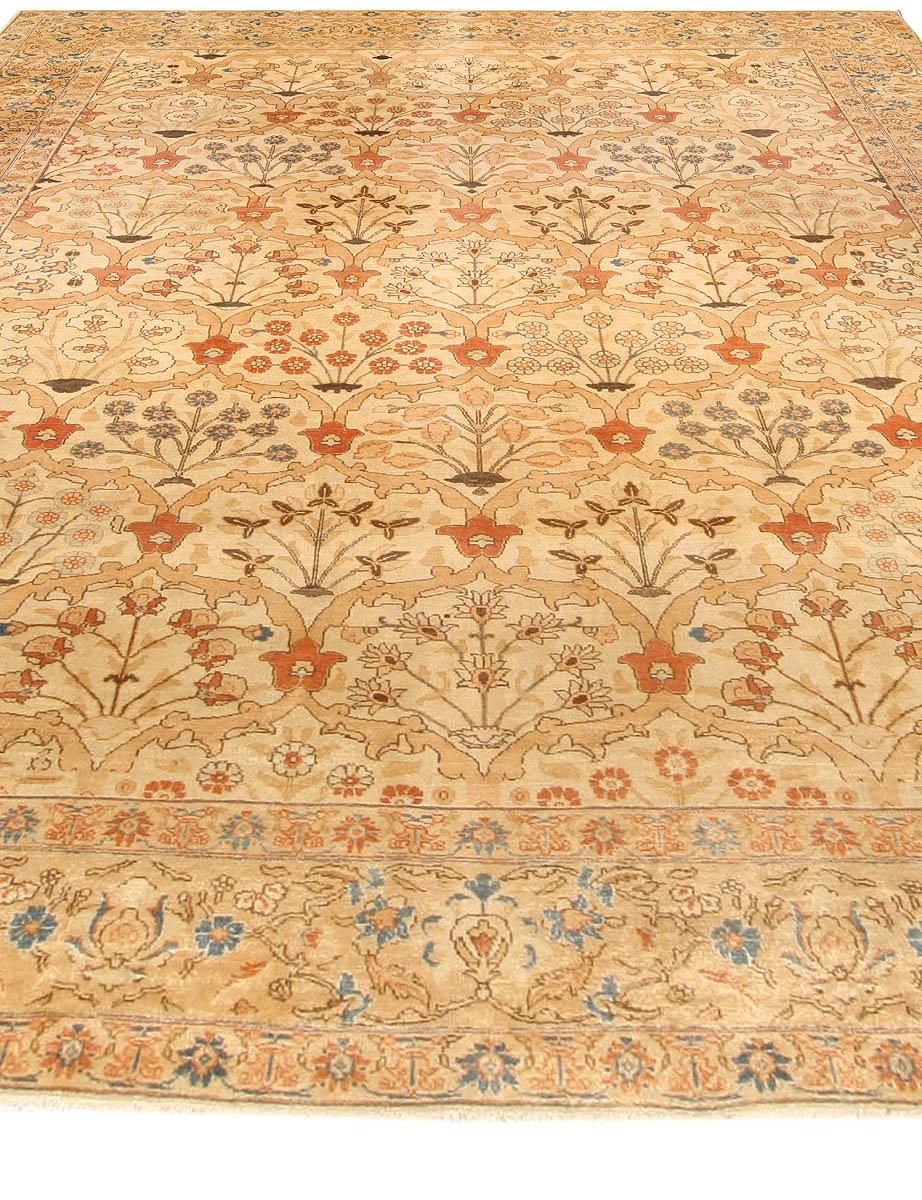 Antique Persian Tabriz Rug BB4173