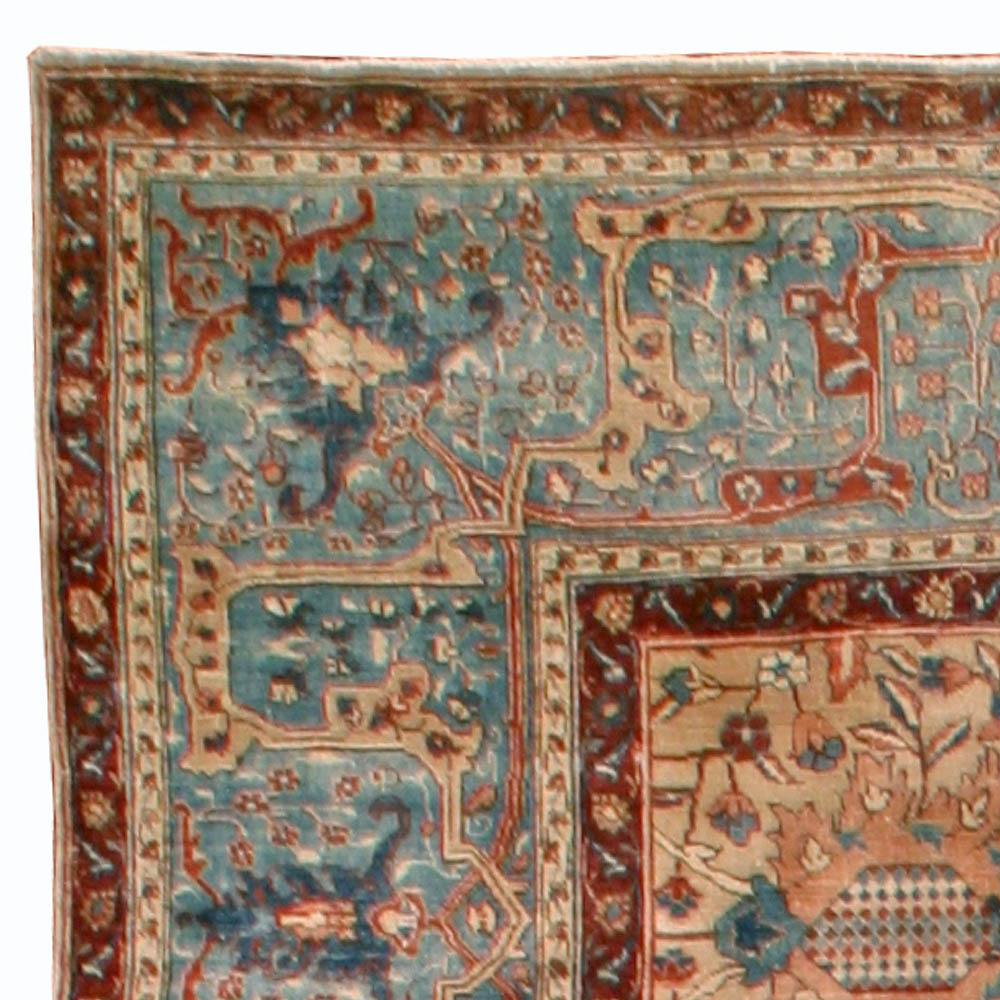 Antique Persian Tabriz Rug BB4583