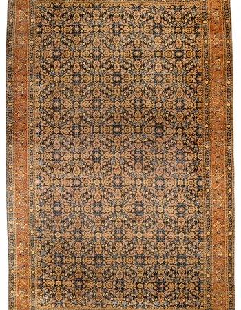 Antique persa Tabriz Tapete BB0791