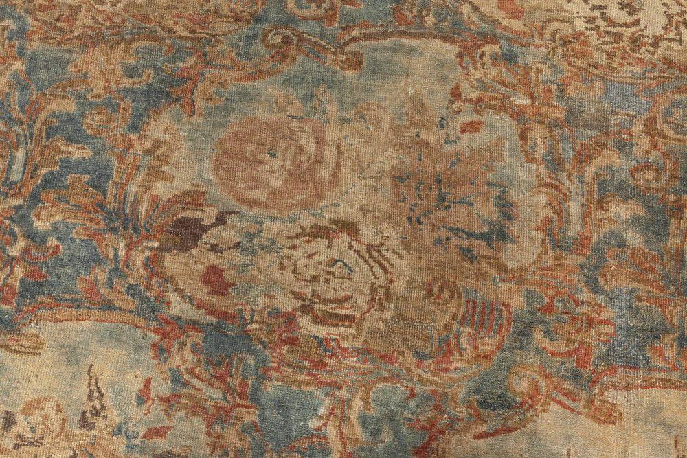 Vintage Persian Tabriz Carpet BB3950