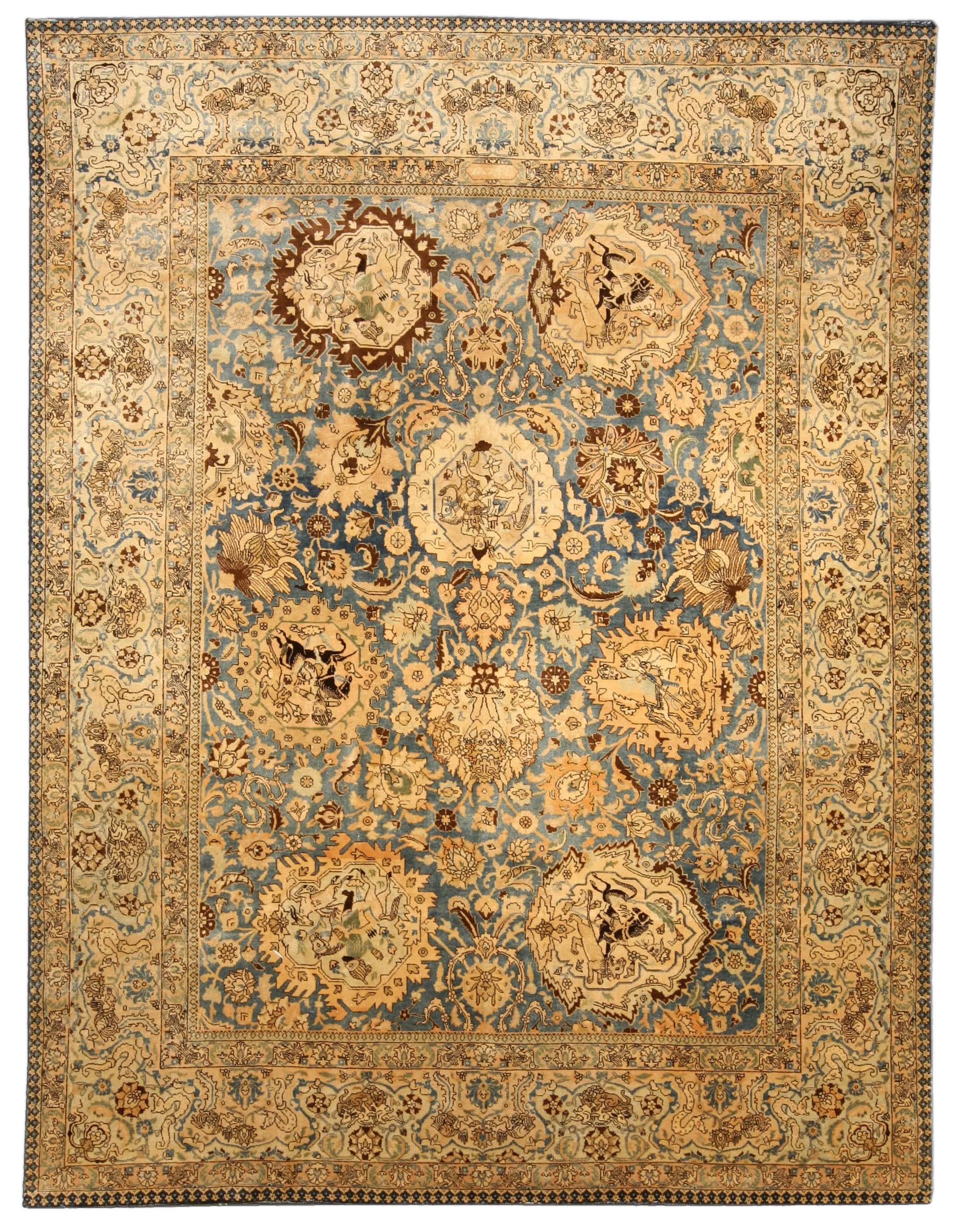 Antique Persian Tabriz Rug BB4034