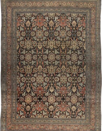 Grande Antique persa Tabriz Tapete BB4493