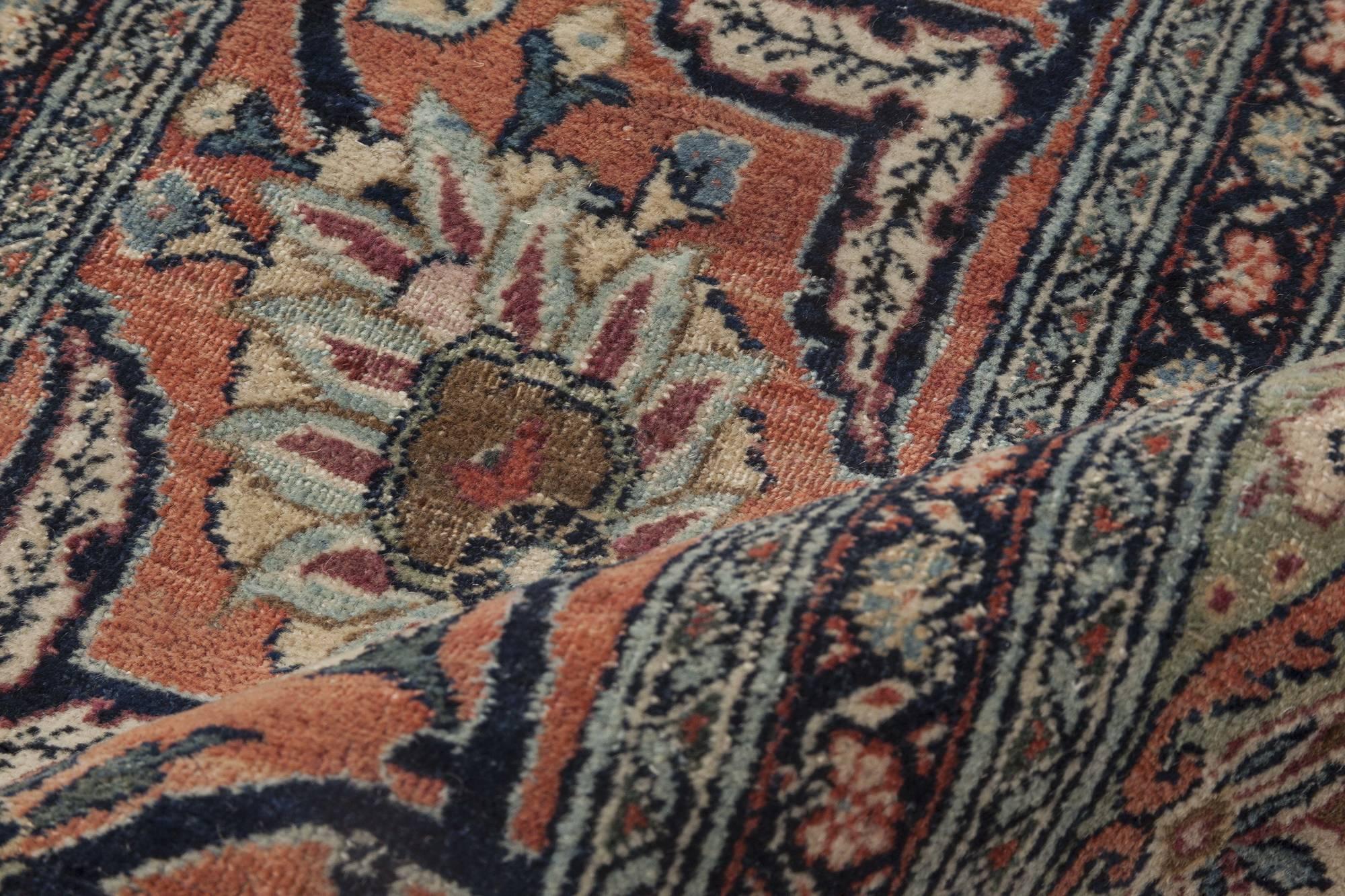 Large Antique Persian Tabriz Rug Bb4493 By Doris Leslie Blau