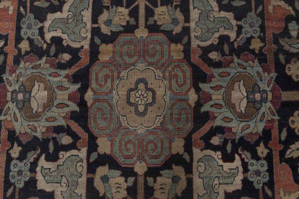 Grande Antique persa Tabriz Tapete BB4493