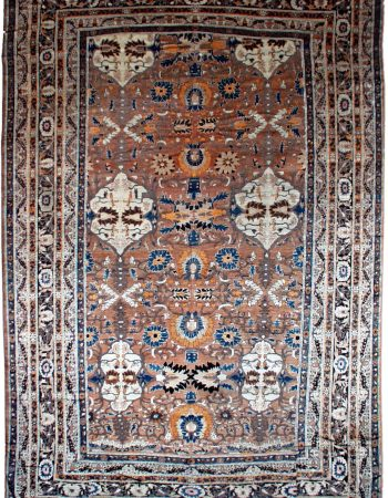 Vintage Persian Tabriz Carpet BB1011