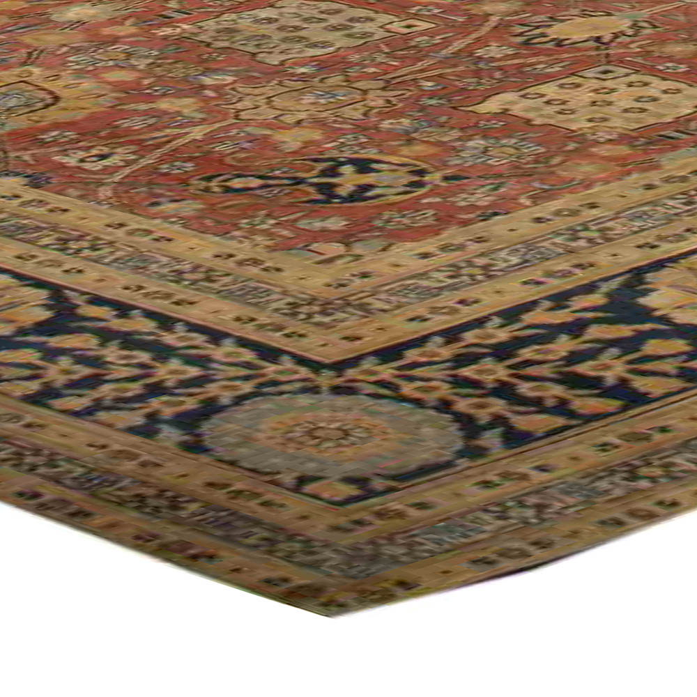Antique Large Rug: Large Antique Persian Tabriz Rug BB3327 By Doris Leslie Blau