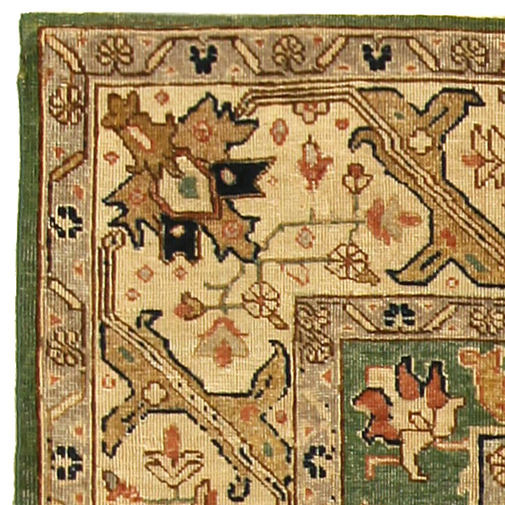 Antique Persian Tabriz Rug BB5166