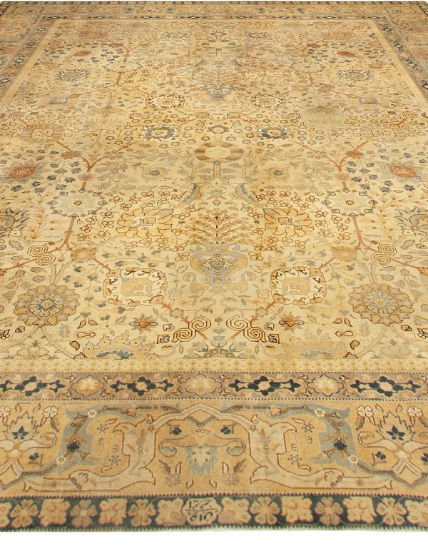 Antique persa Tabriz Tapete BB4938