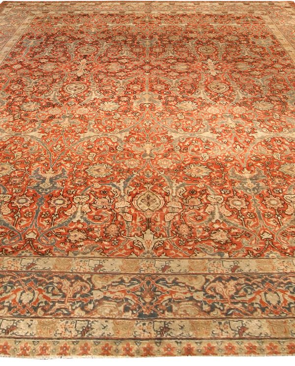 Antique Persian Tabriz Rug BB3526