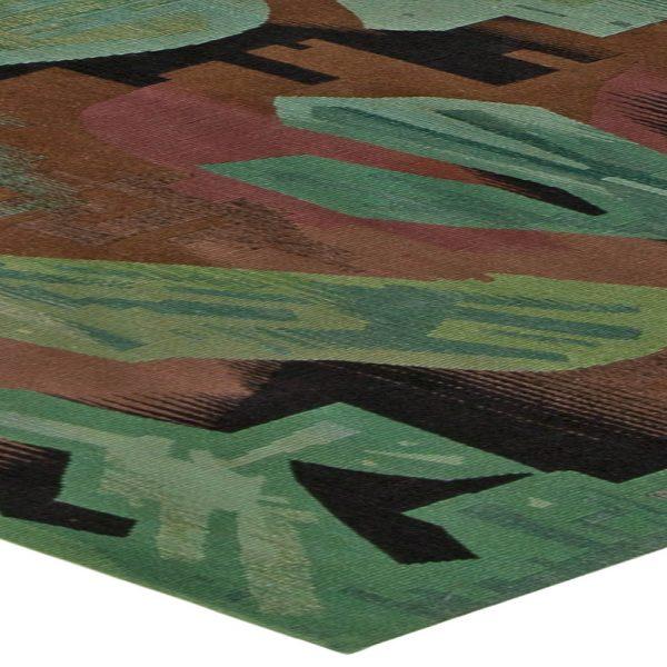 Antike Osteuropäischen Flachgewebe Teppich BB2927