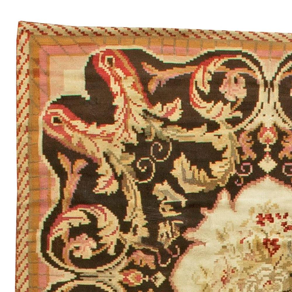 19th Century Bessarabian Handmade Rug BB6036