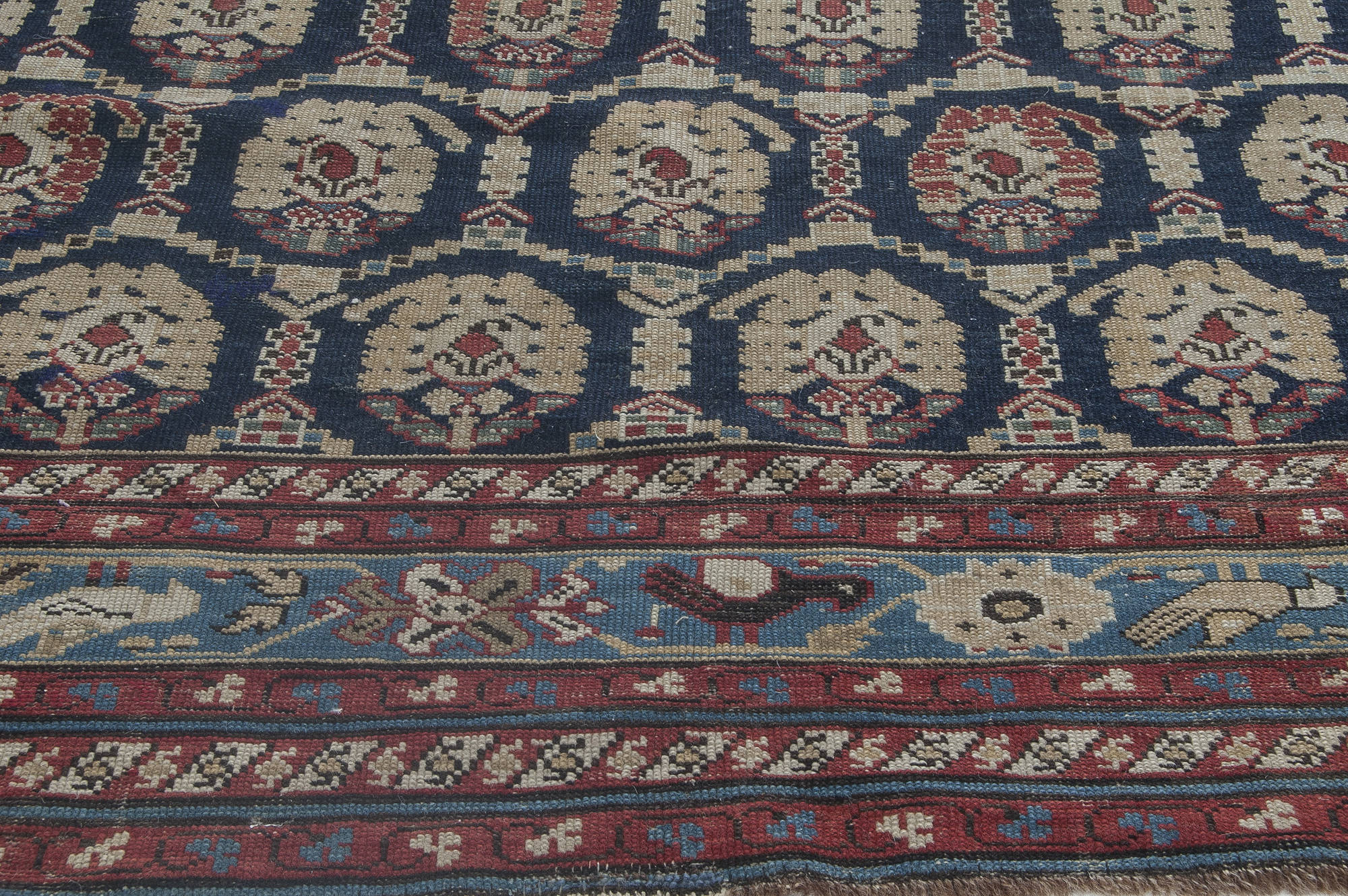Antique Caucasian Rug Bb3518 By Dlb
