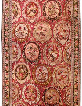 Antique Caucasian Karabagh Carpet BB3669