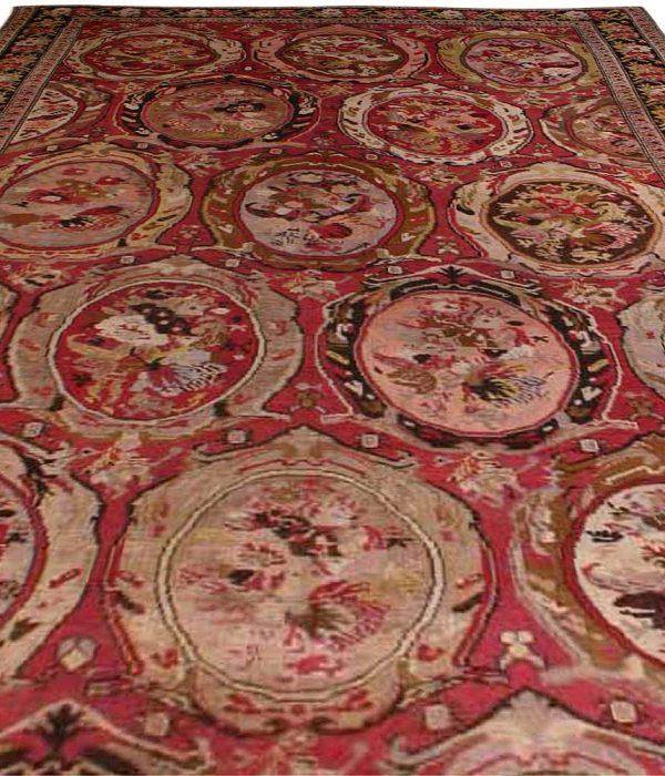 Antique Caucasian Karabagh Carpet BB3669