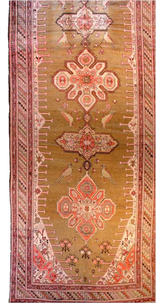 Antique Russian Karabagh Tapete BB2866