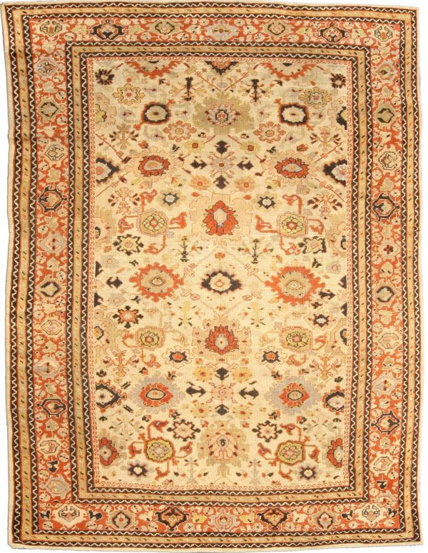 Antique Sultanabad Rug BB4743