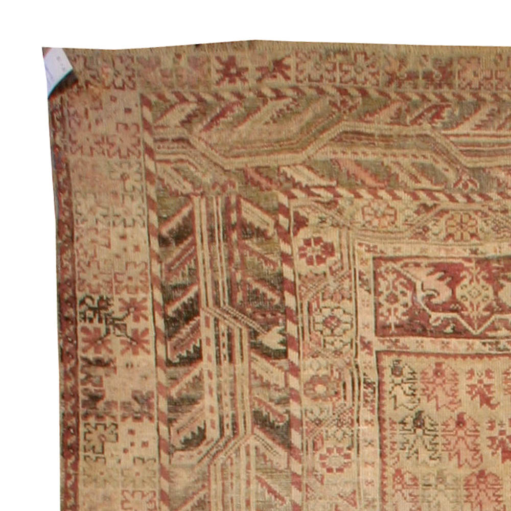 Antique Turkish Ghiordes Carpet BB0765