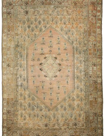 Antique Turkish Ghiordes Rug BB0921