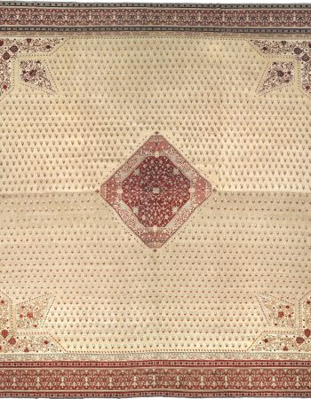 Oversized Antique Turkish Hereke Carpet BB1632