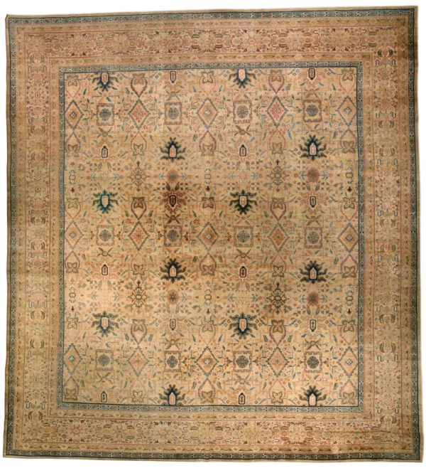 Vintage Turkish Hereke Rug BB4569