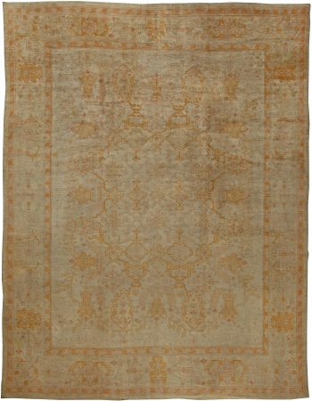 Antique Turkish Oushak Rug BB5668