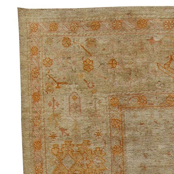 Antique Turkish Oushak Rug BB5668