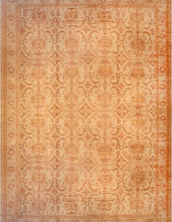 Oversized Vintage Turkish Oushak Carpet BB2131