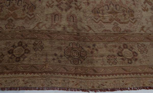 Oversized Vintage Turkish Oushak Carpet BB2131