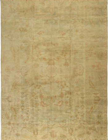 Antique Turkish Oushak Carpet BB2860