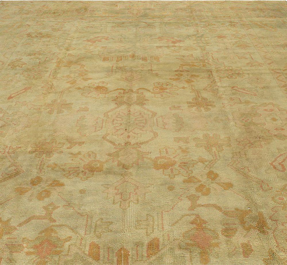 Antique Turkish Oushak Carpet BB2860