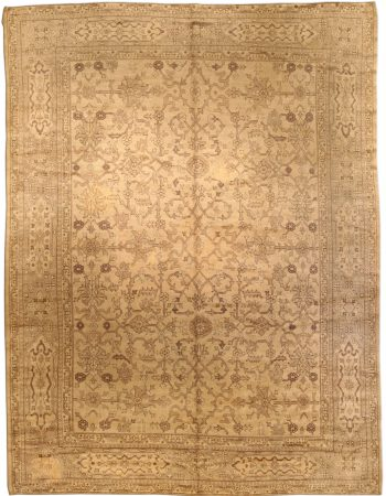 Antique Turkish Oushak Rug BB3018