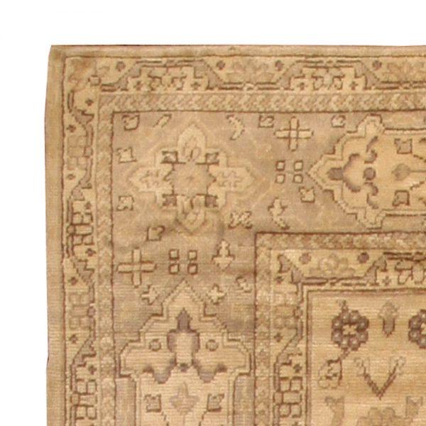 Antique Turkish Oushak Rug BB3018