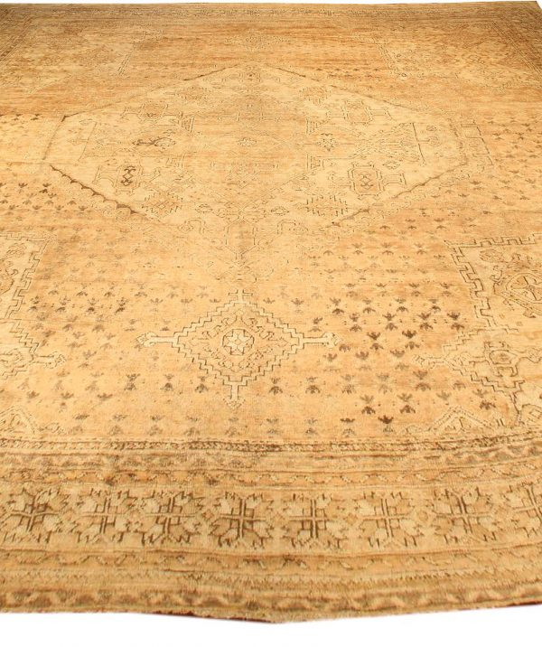 Oversized Antique Turkish Oushak Rug BB3804