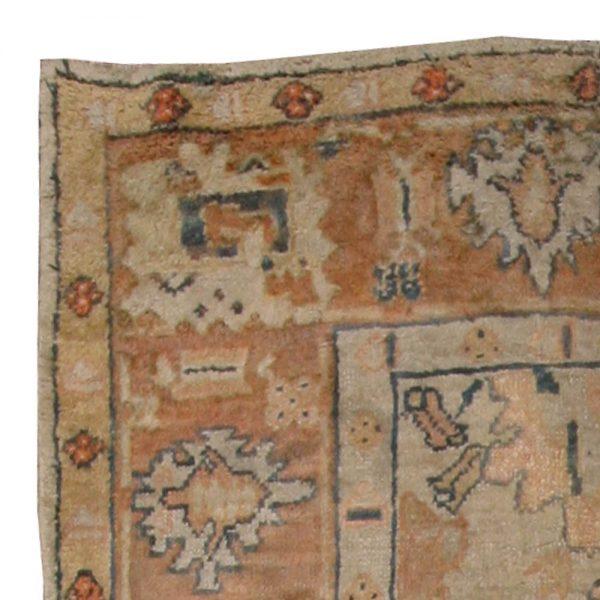 Vintage türkische Oushak Teppich BB4603