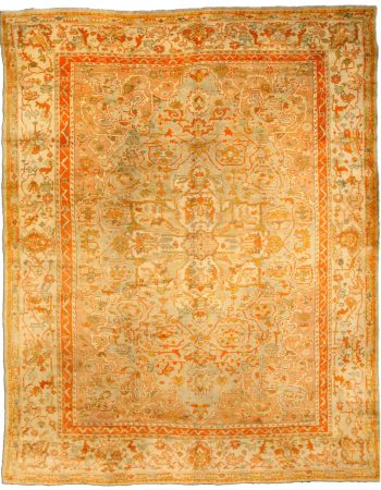 Antique Turkish Oushak Rug BB7015