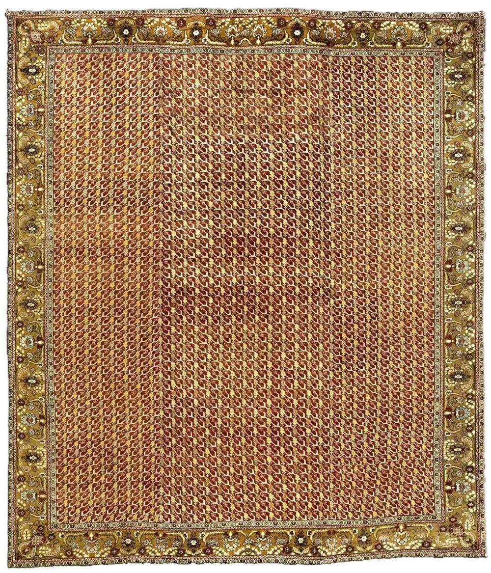 Antique Turkish Oushak Carpet BB3331