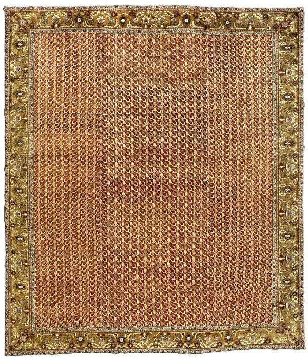 Antike Türkisch Oushak Teppich BB3331