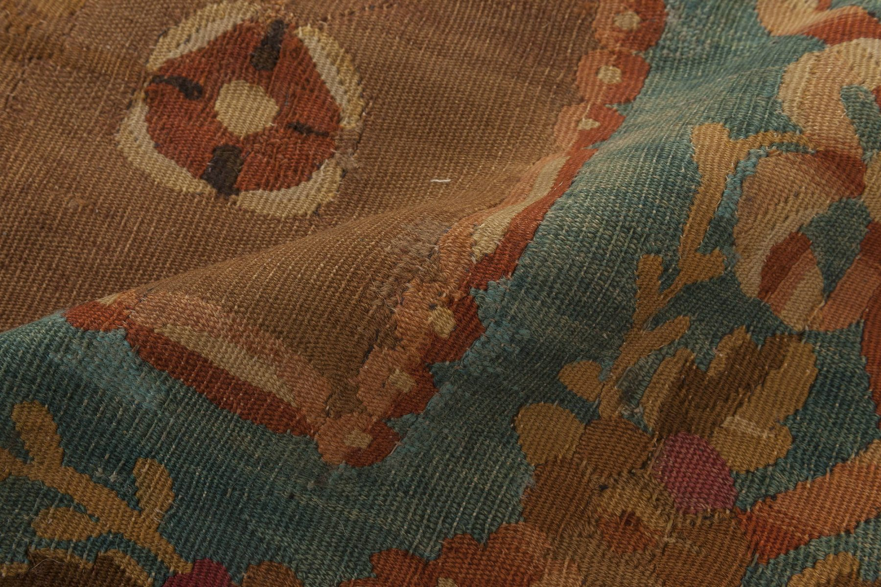 Antique French Aubusson Rug BB6149