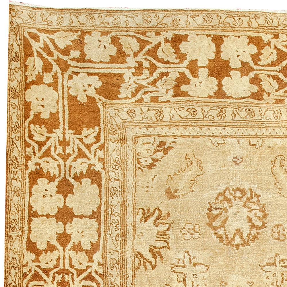 Antique Indian Agra Rug BB2475
