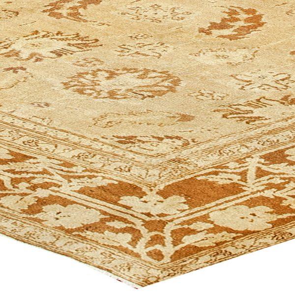 Antike indischen Agra Teppich BB2475