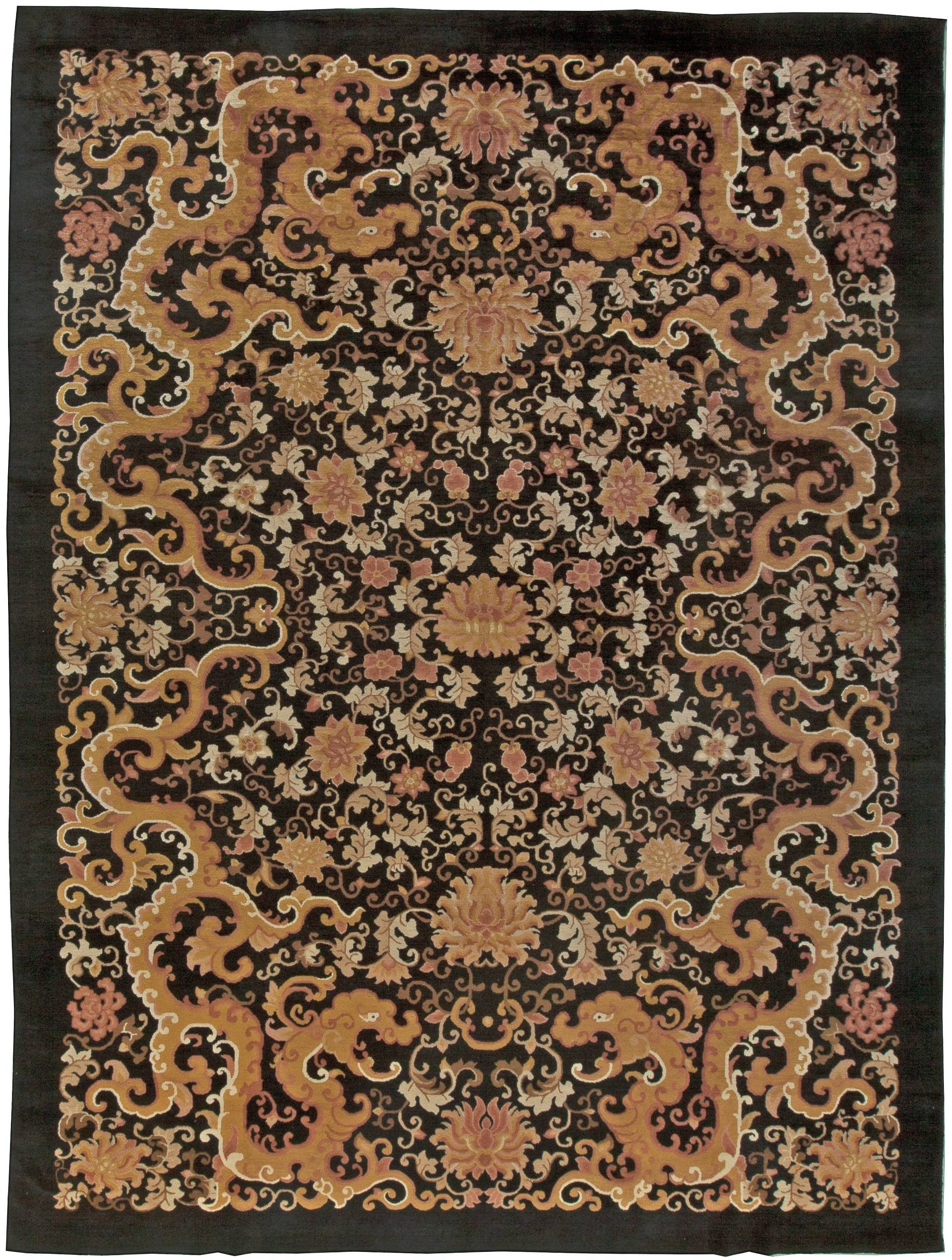 chinese vintage rug bb5968doris leslie blau Antique Rugs
