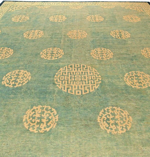 Large Vintage Chinese Rug (size adjusted) BB5887