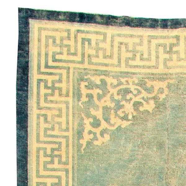 Große Vintage chinesische Teppich (Größe angepasst) BB5887