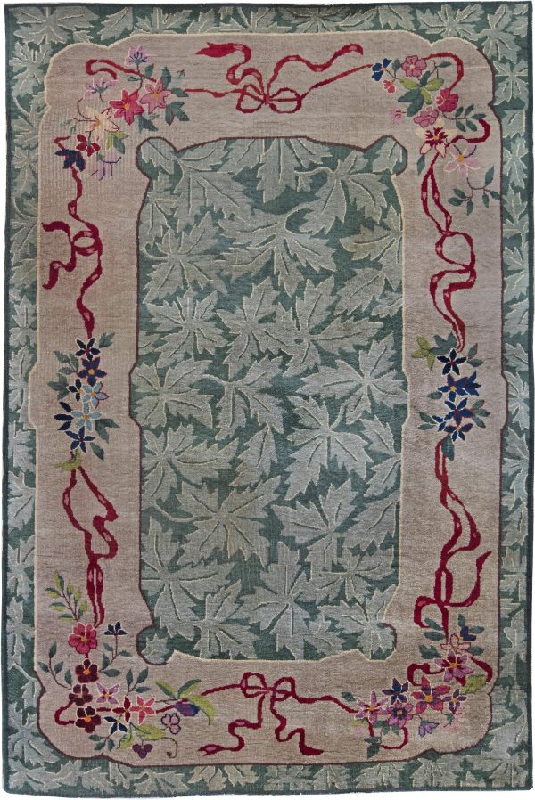 Vintage Deco Chinese Rug BB6237