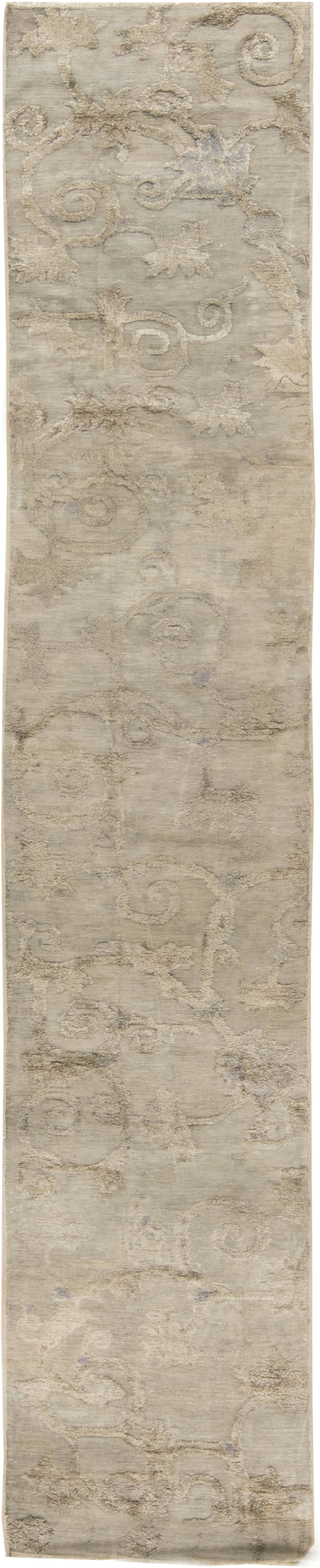 Antique Silk Chinese Runner (fragment) BB6582